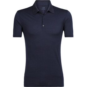Icebreaker Tech Lite SS Polo Men midnight navy